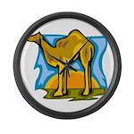 Camel Large Wall Clock
