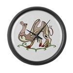 Stylized Camel Large Wall Clock