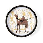 Egyptian Camel Wall Clock