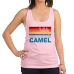 Colorful Camel Racerback Tank Top