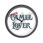 Camel Lover Wall Clock