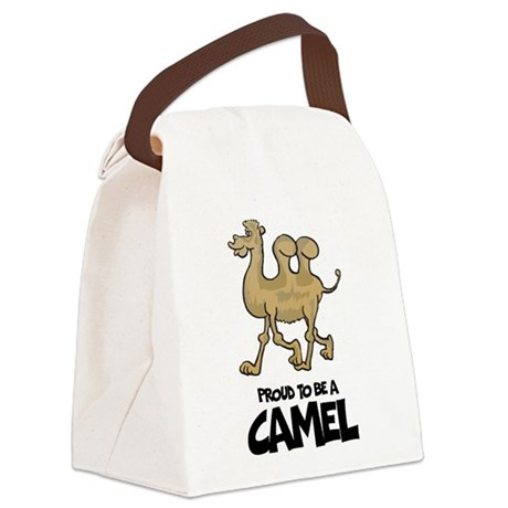 Proud To Be A Camel Canvas Lunch Bag