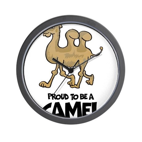 Proud To Be A Camel Wall Clock