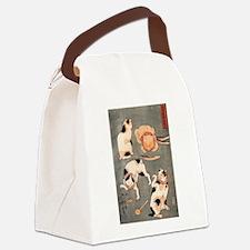 Utagawa Kuniyoshi Cats Canvas Lunch Bag