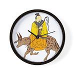 Chinese Mythology - Cow Wall Clock