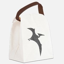 Vintage Pterodactyl Canvas Lunch Bag