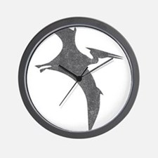 Vintage Pterodactyl Wall Clock