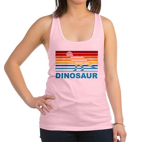 Colorful Dinosaur Racerback Tank Top