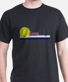Keven Black T-Shirt