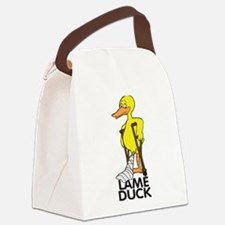 Lame Duck Canvas Lunch Bag