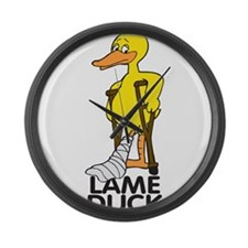 Lame Duck Large Wall Clock