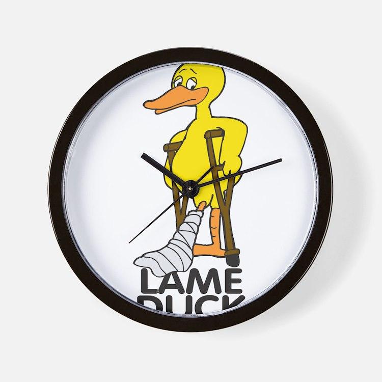 Lame Duck Wall Clock