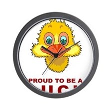 Proud To Be A Duck Wall Clock