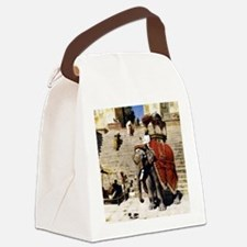 Funny Edwin Canvas Lunch Bag