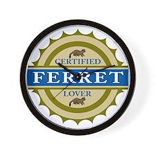 Ferret Lover Wall Clock