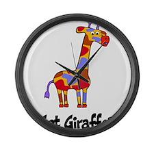 Got Giraffe? Large Wall Clock