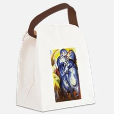 Funny Paintings Canvas Lunch Bag