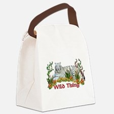 wildthing01a.png Canvas Lunch Bag