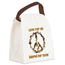 peacedogs01.png Canvas Lunch Bag