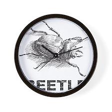 Vintage Beetle Wall Clock