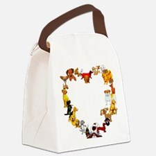 dogheart01.png Canvas Lunch Bag