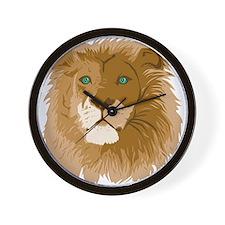 Realistic Lion Wall Clock