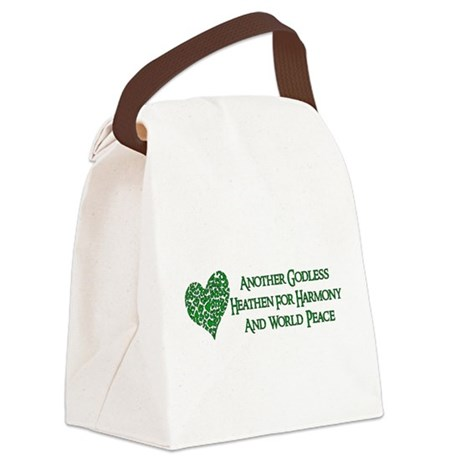 atheist03.png Canvas Lunch Bag