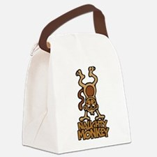 Naughty Monkey Canvas Lunch Bag