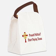 tax_churches01.png Canvas Lunch Bag
