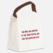 bible01.png Canvas Lunch Bag