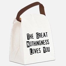 nothing01.png Canvas Lunch Bag