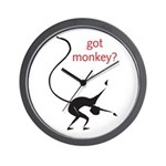 Got Monkey? Wall Clock