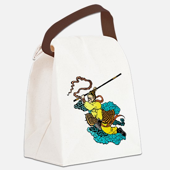 Monkey King Canvas Lunch Bag