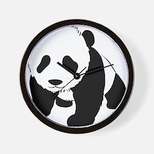 Cute Baby Panda Wall Clock