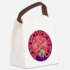 Empowered Woman Canvas Lunch Bag