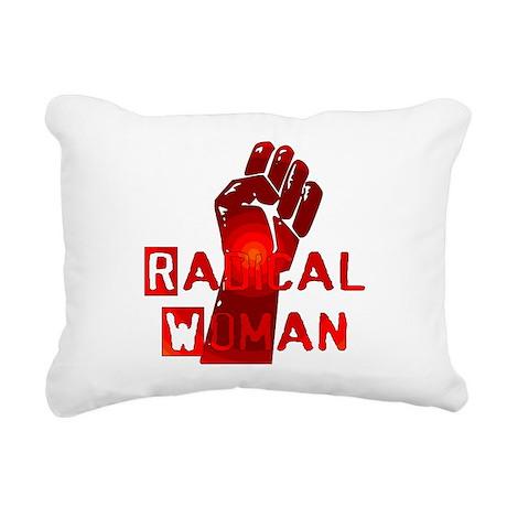 radical_woman01.png Rectangular Canvas Pillow