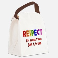 respect_word01.png Canvas Lunch Bag