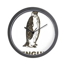 Vintage Penguin Wall Clock