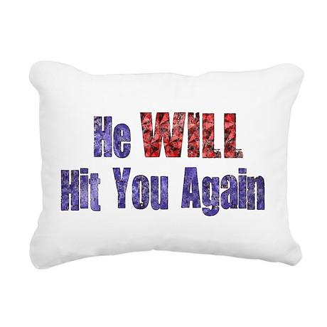 abuse022.png Rectangular Canvas Pillow