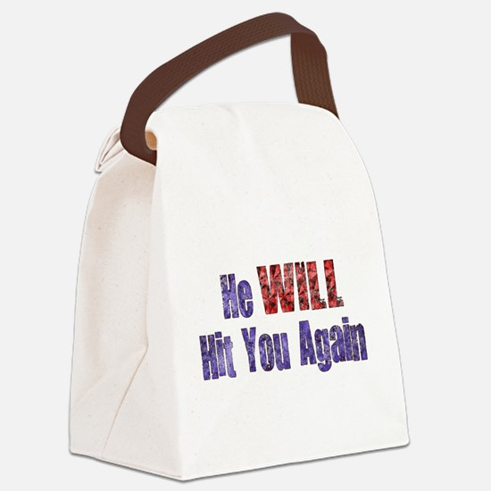 abuse022.png Canvas Lunch Bag