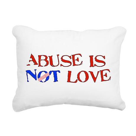abuse01.png Rectangular Canvas Pillow