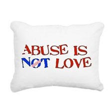 abuse01.png Rectangular Canvas Pillow
