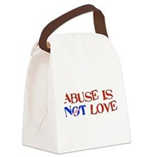 abuse01.png Canvas Lunch Bag