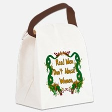 realmen01.png Canvas Lunch Bag