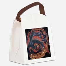 Katsushika Hokusai Phoenix Canvas Lunch Bag