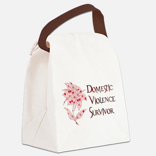 domestic_violencesurvivor01.png Canvas Lunch Bag