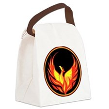 Stylish Phoenix Canvas Lunch Bag