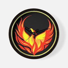 Stylish Phoenix Wall Clock