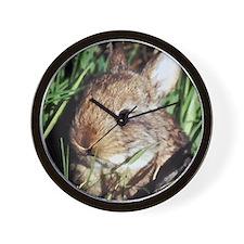 Cute Rabbit Wall Clock
