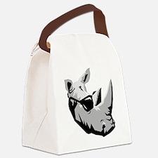Cool Rhinoceros Canvas Lunch Bag